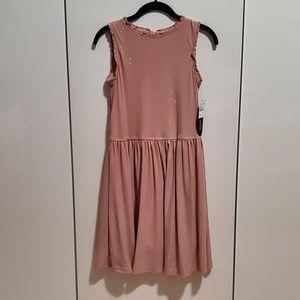 GIRLS BLUSH PINK DRESS